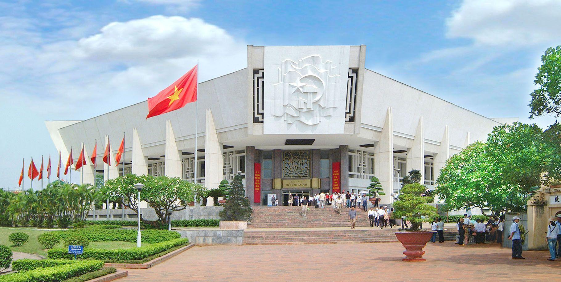 Bảo tàng Hồ Chí Minh. Hình: Sưu tầm