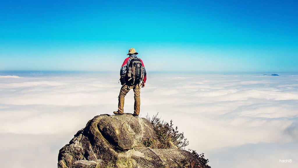 Trekking Bạch Mộc Lương Tử. Hình: Sưu tầm