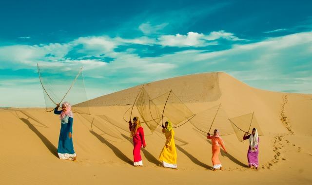 Những đồi cát trắng hot nhất của dải đất miền Trung