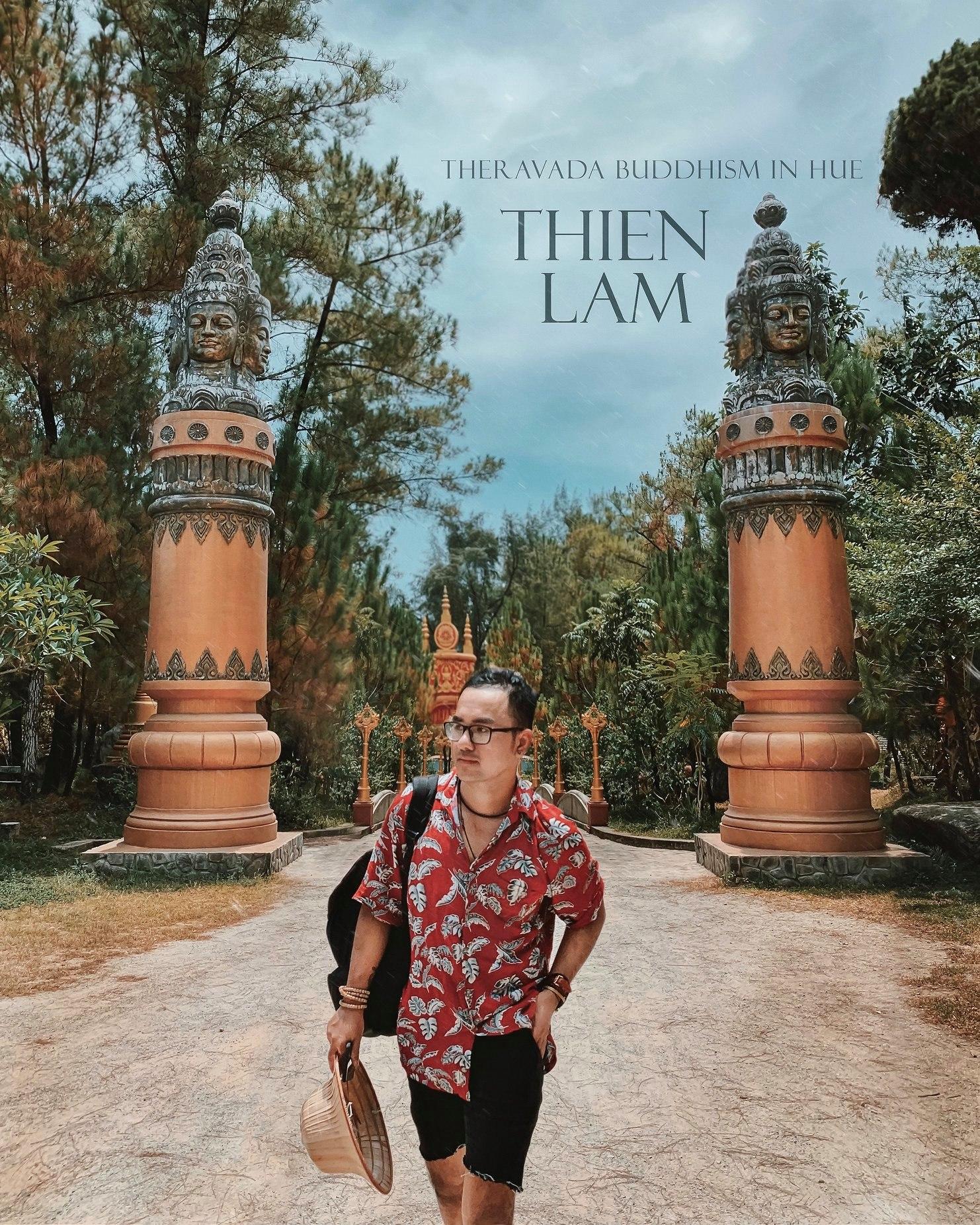 Chùa Thiền Lâm. Hình: Cường Quốc Phạm