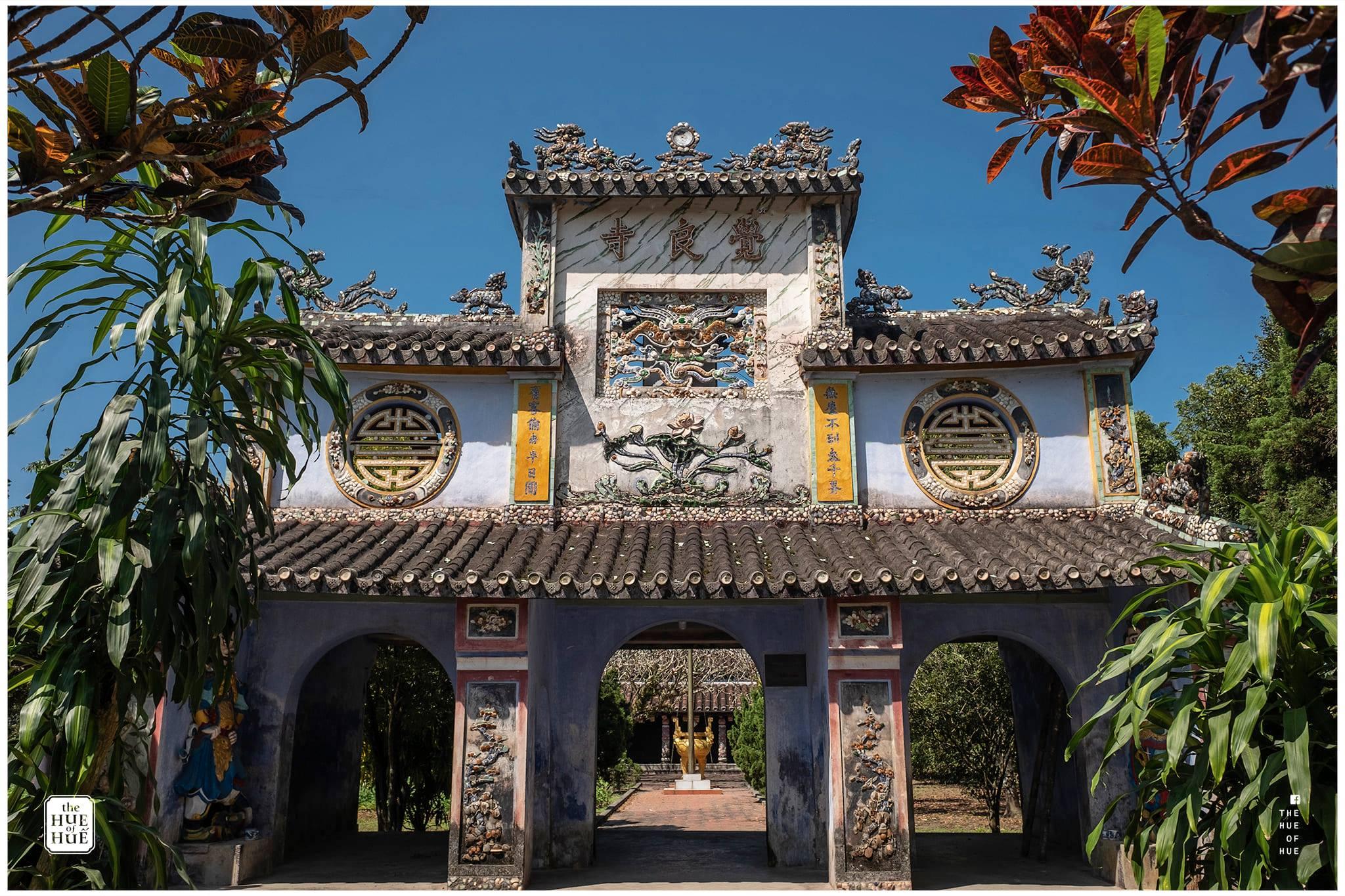Chùa Giác Lương. Hình: The Hue of Huế