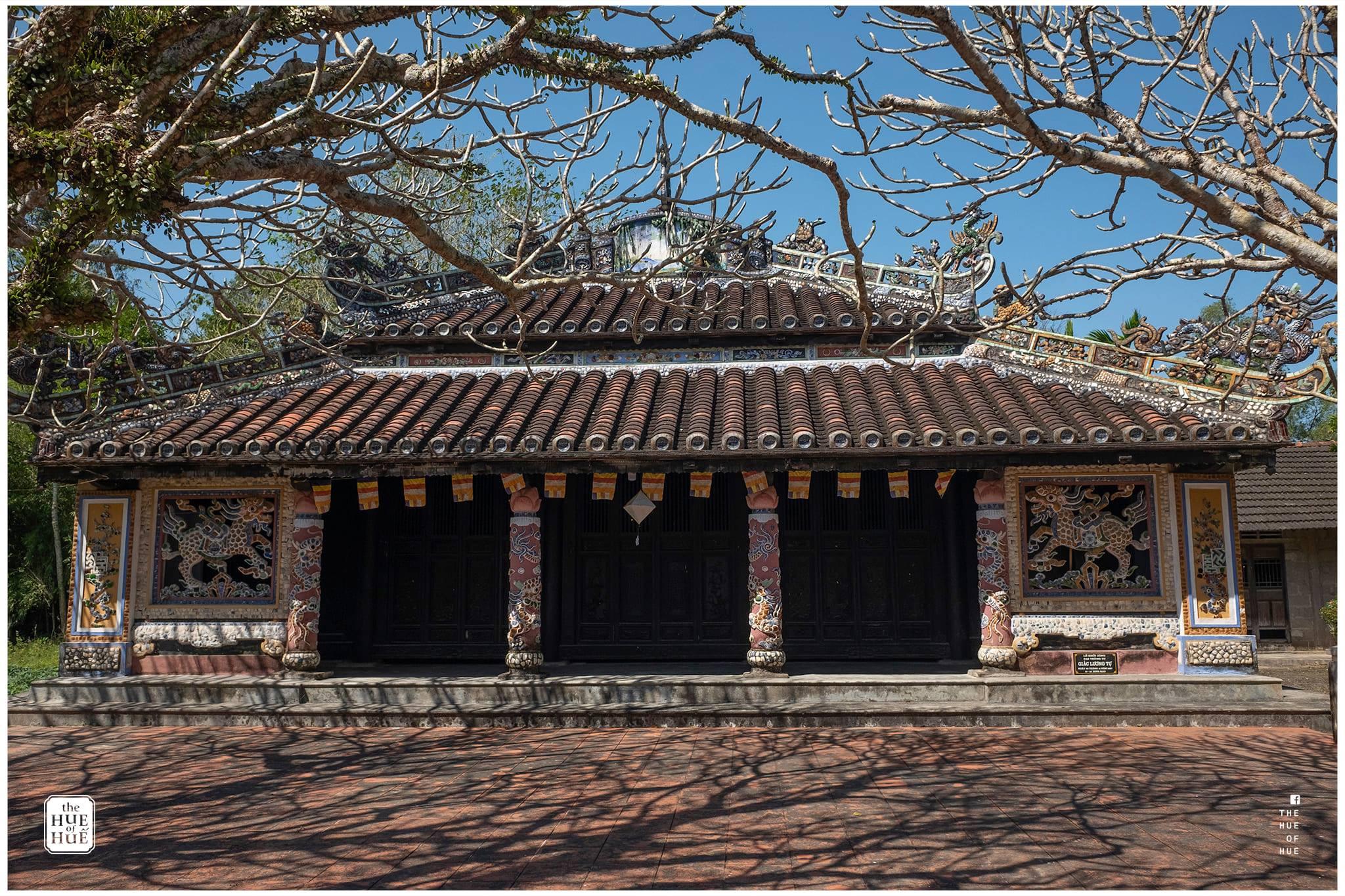 Bên trong chùa Giác Lương. Hình: The Hue of Huế