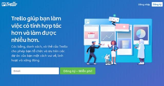 Hướng dẫn đăng ký phần mềm Trello miễn phí