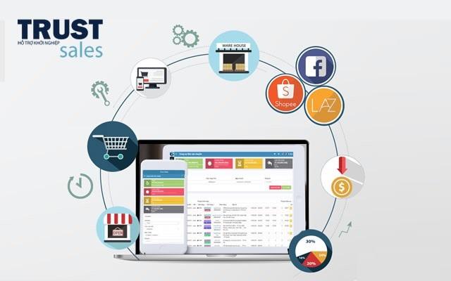 TrustSales giúp nhà quản lý dễ dàng sử dụng và điều khiển hoạt động kinh doanh của doanh nghiệp mình mọi lúc mọi nơi
