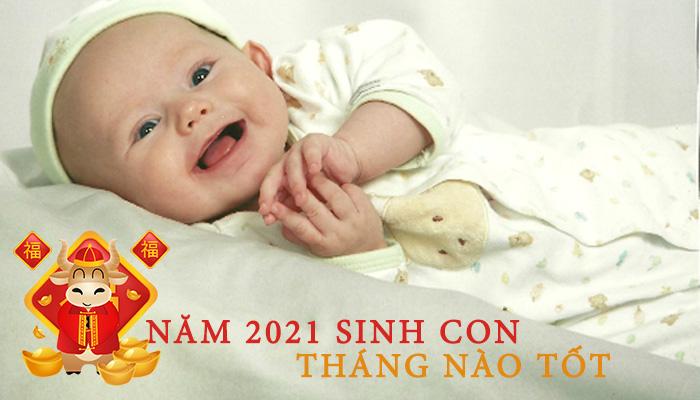 Vận mệnh theo tháng sinh của trẻ vào năm 2021 - Nguồn ảnh: Internet