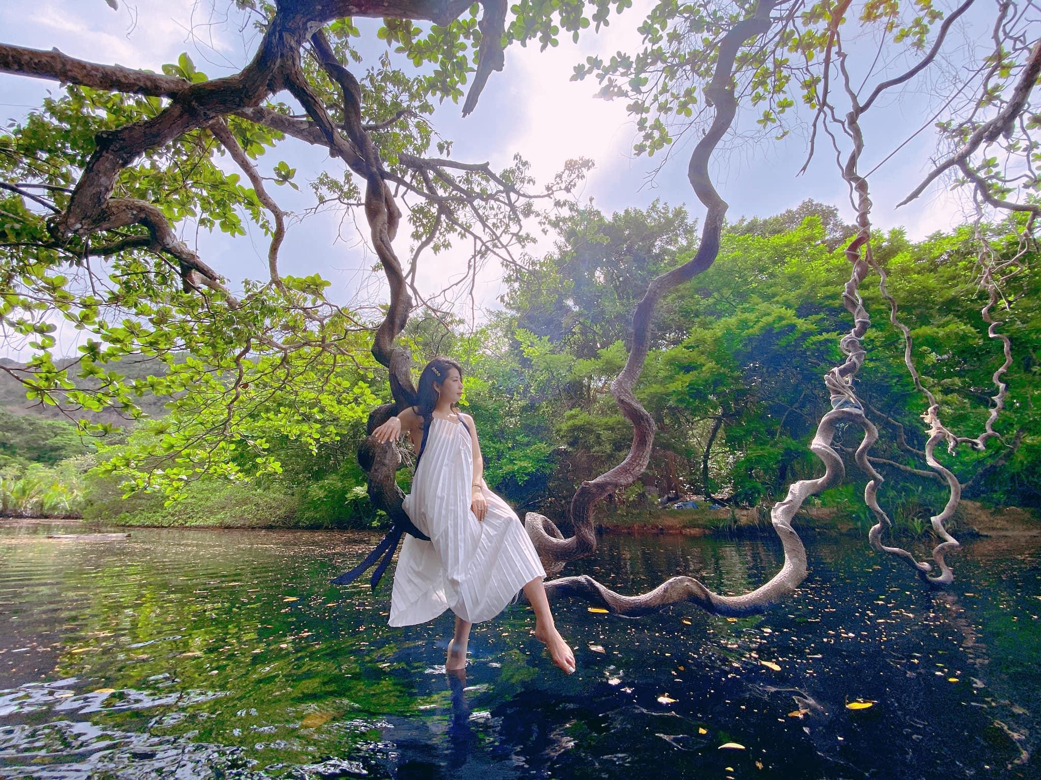 Những góc sống ảo siêu đẹp của Côn Đảo. Hình: Trần H.Vân
