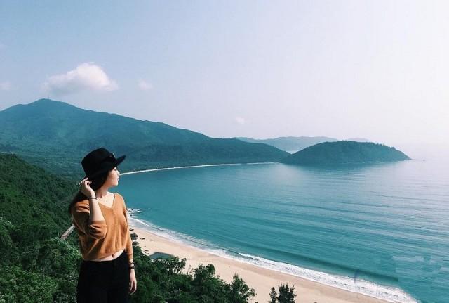 Vịnh Lăng Cô - Huế yên ả, bình dị. Ảnh: Internet
