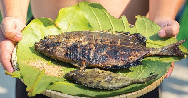 Các món hải sản ở Hòn Chảo được chế biến đơn giản nhưng vẫn thơm ngon