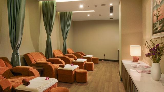 Thư giãn, giải tỏa căng thẳng ngay tại spa trong khuôn viên khu nghỉ dưỡng