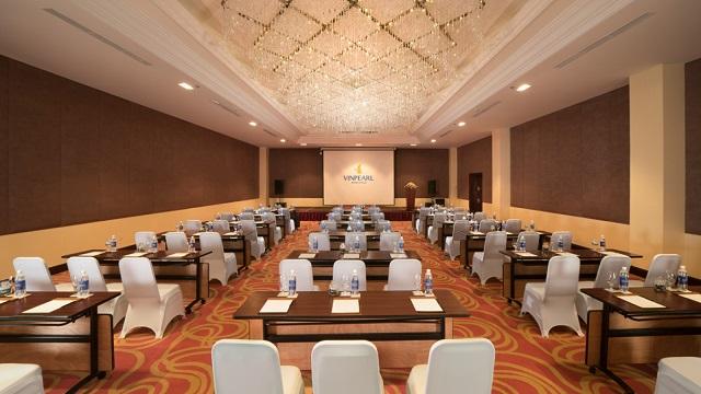 Hệ thống phòng họp tại đây đều được thiết kế theo phong cách hiện đại và sang trọng