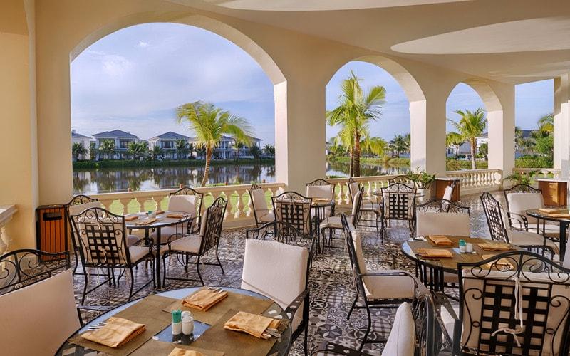 Nhà hàng Sabbia nổi tiếng với những món ăn đặc sắc được chế biến từ hải sản tươi sống