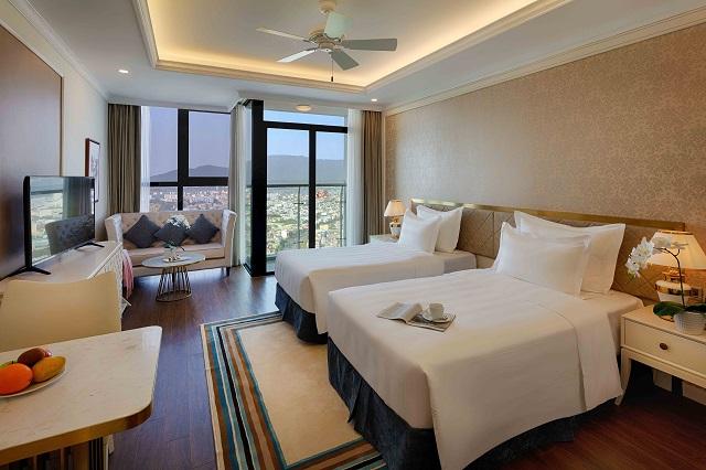 Không gian tráng lệ bên trong tòa khách sạn căn hộ lớn nhất TP. Đà Nẵng