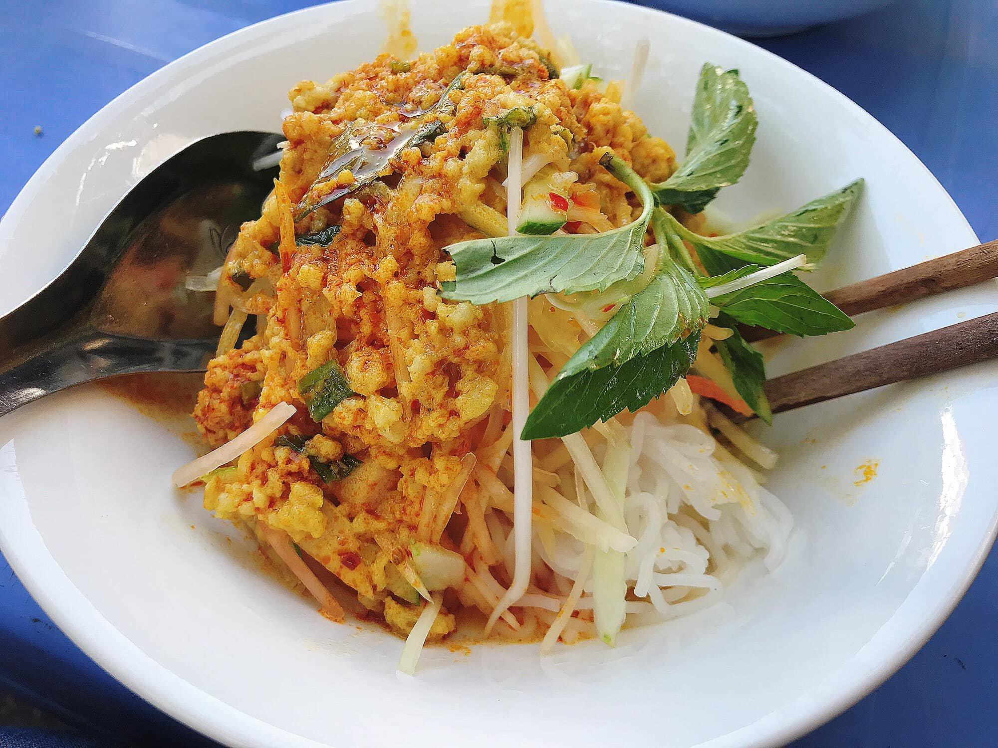 Bún kèn là món ăn khá lạ miệng tại Phú Quốc - Nguồn ảnh: Internet