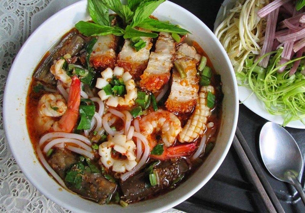 Bún mắm Dung Hà với hương vị đậm đà khó cưỡng - Nguồn ảnh: Internet