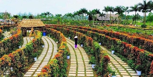 Rose Park Đầm Trành mang đến không gian sinh thái với đầy đủ những khu ẩm thực, nhà hàng, khu thể thao, vui chơi giải trí, câu cá và những hoạt động dã ngoại