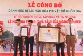 Lễ hội Phá Bàu trở thành Di sản văn hóa phi vật thể quốc gia