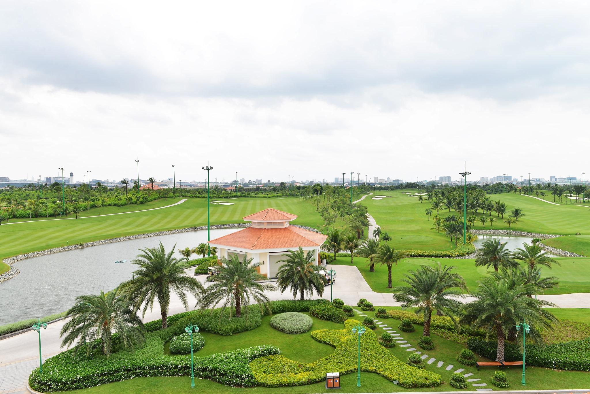 Tổng quan sân golf Tân Sơn Nhất. Hình: Sưu tầm