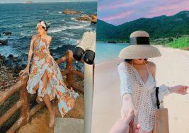 Xu hướng thời trang đi biển trending 2021