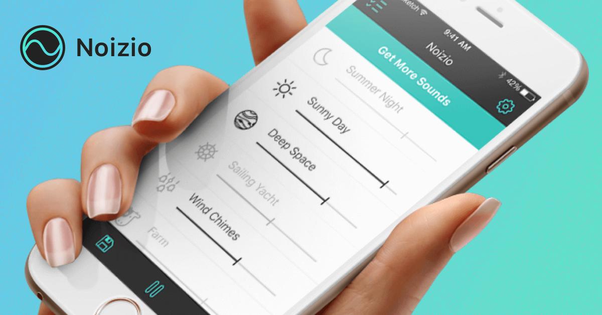 App Noizio cung cấp các âm thanh tự nhiên giúp bạn tăng khả năng tập trung khi làm việc