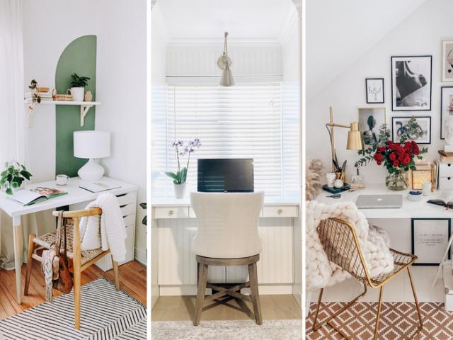 Không gian làm việc lý tưởng, ngăn nắp giúp bạn work from home tập trung tốt nhất. Ảnh: Internet