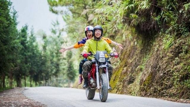 Du lịch gần Hà Nội bằng xe máy sẽ mang cho bạn thật nhiều trải nghiệm