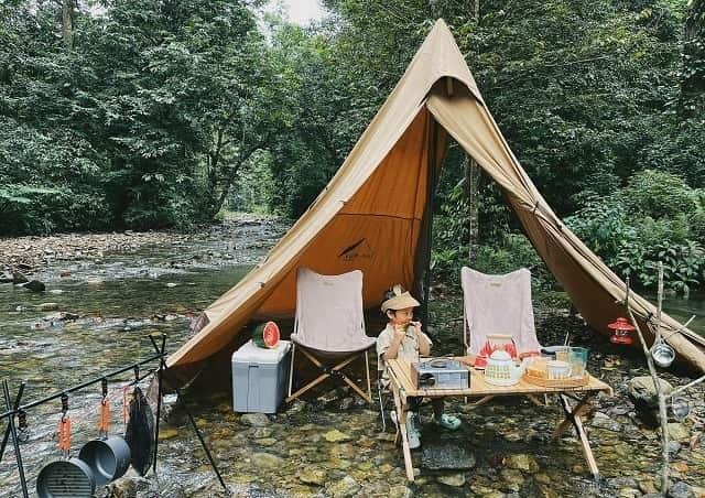 """Một chuyến đi picnic cùng gia đình tại Xuân Sơn vào dịp cuối tuần là vô cùng lý tưởng để bạn có thể """"rời xa thành phố"""" và hòa mình vào thiên nhiên (FB.ChangMi)"""