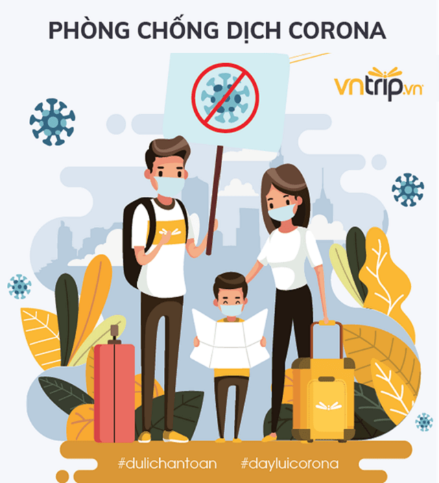 Cùng Vntrip du lịch an toàn trong mùa dịch bằng cách tuân thủ các biện pháp phòng dịch theo quy định