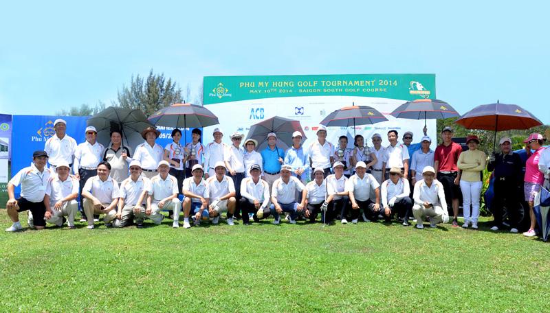 CLB golf Phú Mỹ Hưng. Hình: Sưu tầm