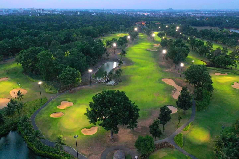 Sân golf Thủ Đức. Hình: Sưu tầm