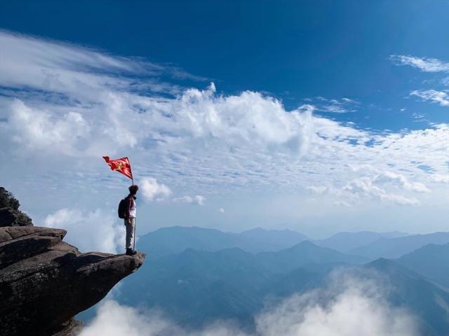 Chinh phục đỉnh Pha Luông hùng vĩ của Sơn La. Ảnh: Internet