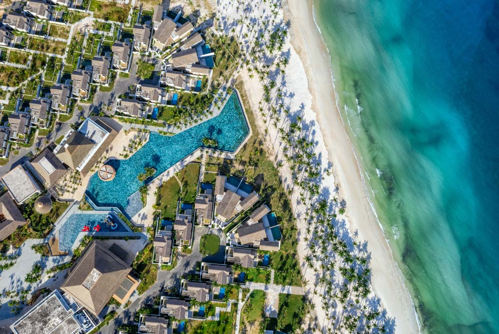 New World Phú Quốc Resort tọa lạ trên bãi Khem – một trong những bãi biển đẹp nhất hành tinh