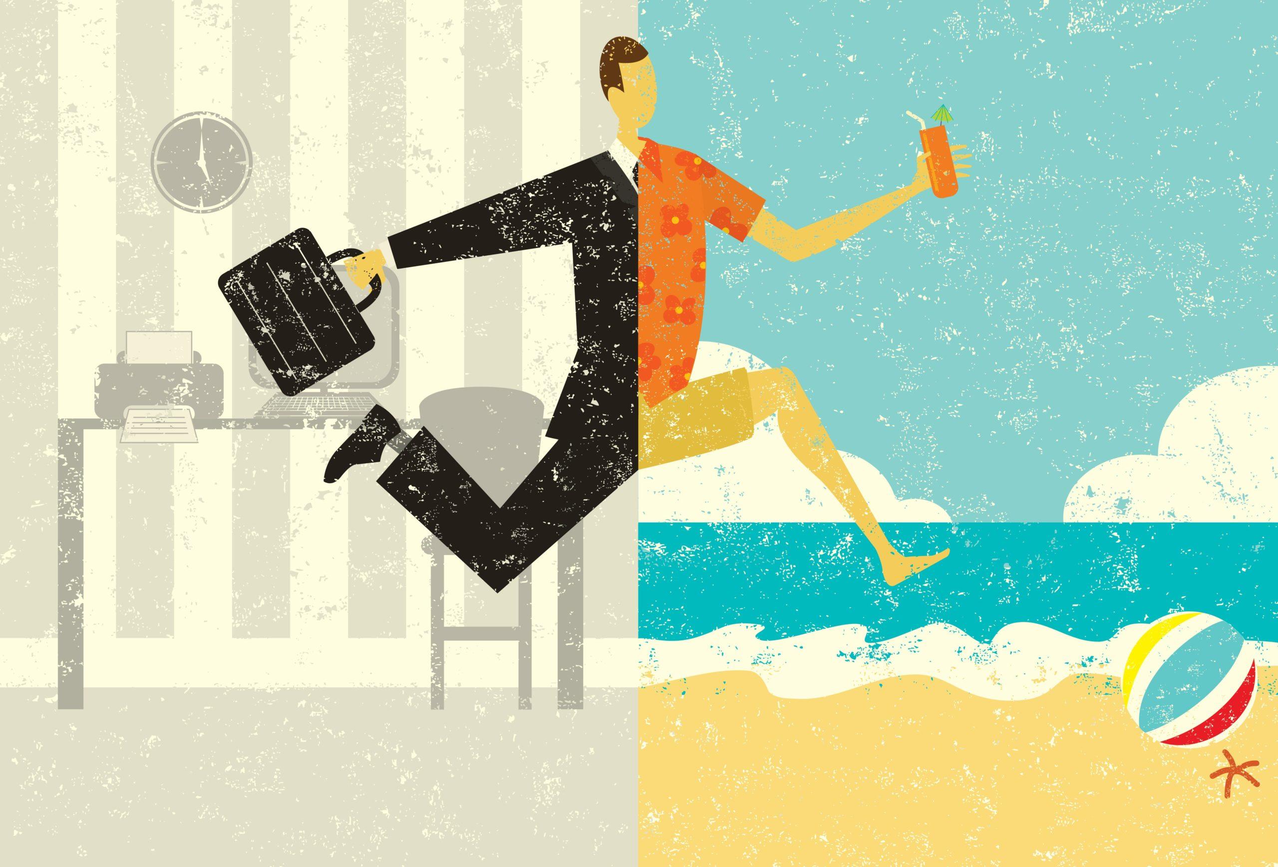 Du lịch kết hợp công việc đang ngày càng trở nên phổ biến hơn. Hình: Sưu tầm