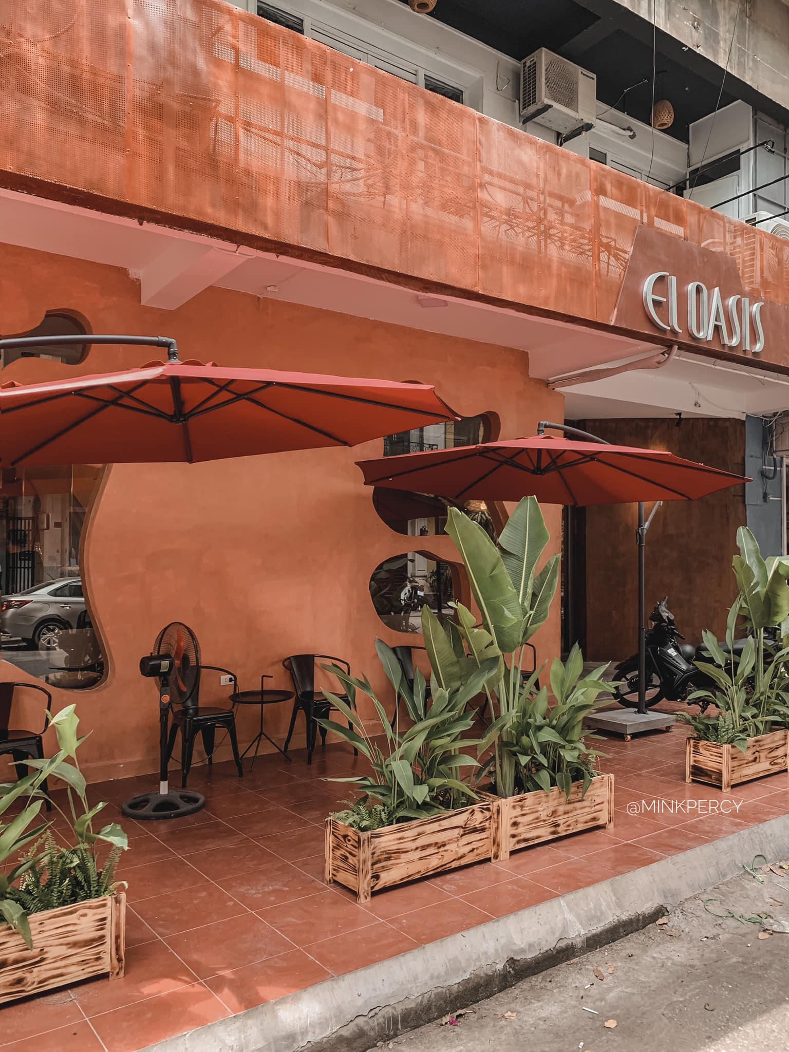 Cùng nhâm nhi thức uống ngon lành trong không gian khác biệt của El Oasis