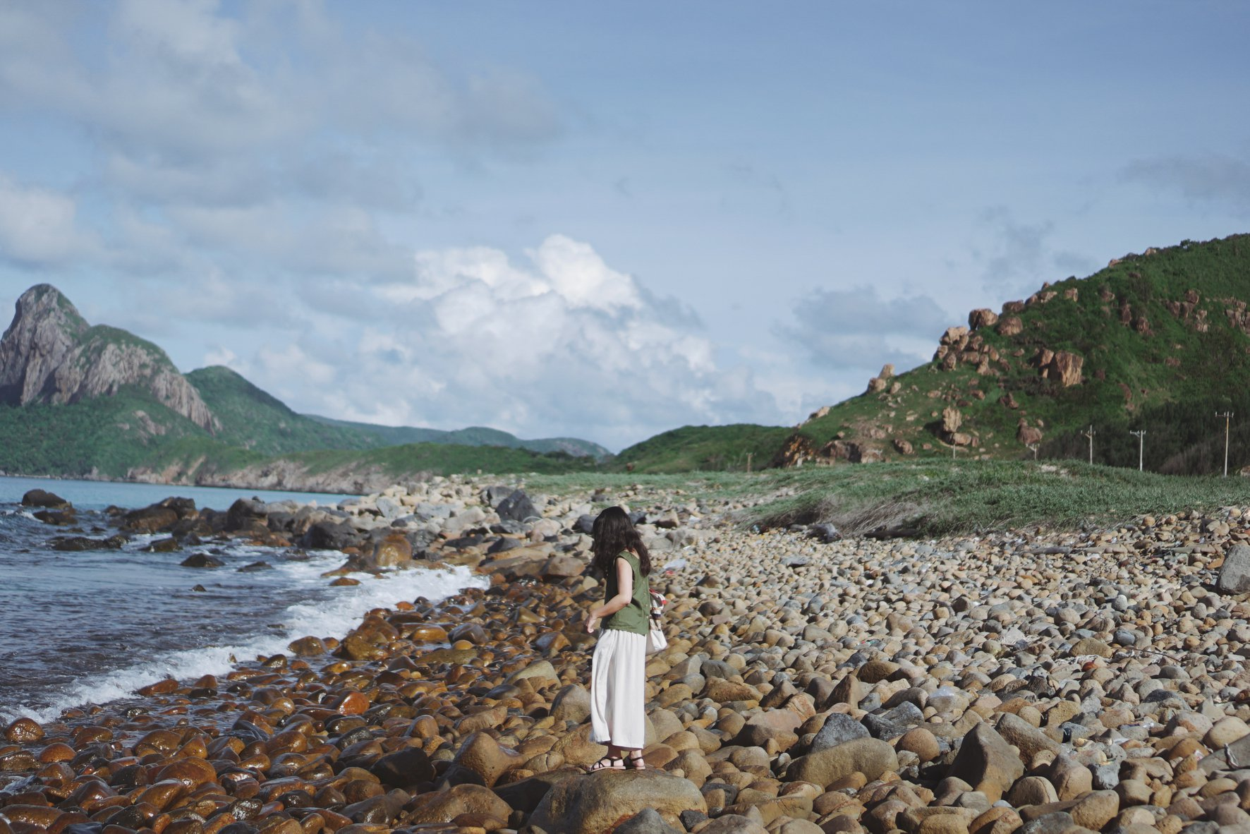 Bãi đá ở Côn Đảo. Hình: Huynh Thanh Phuong Anh