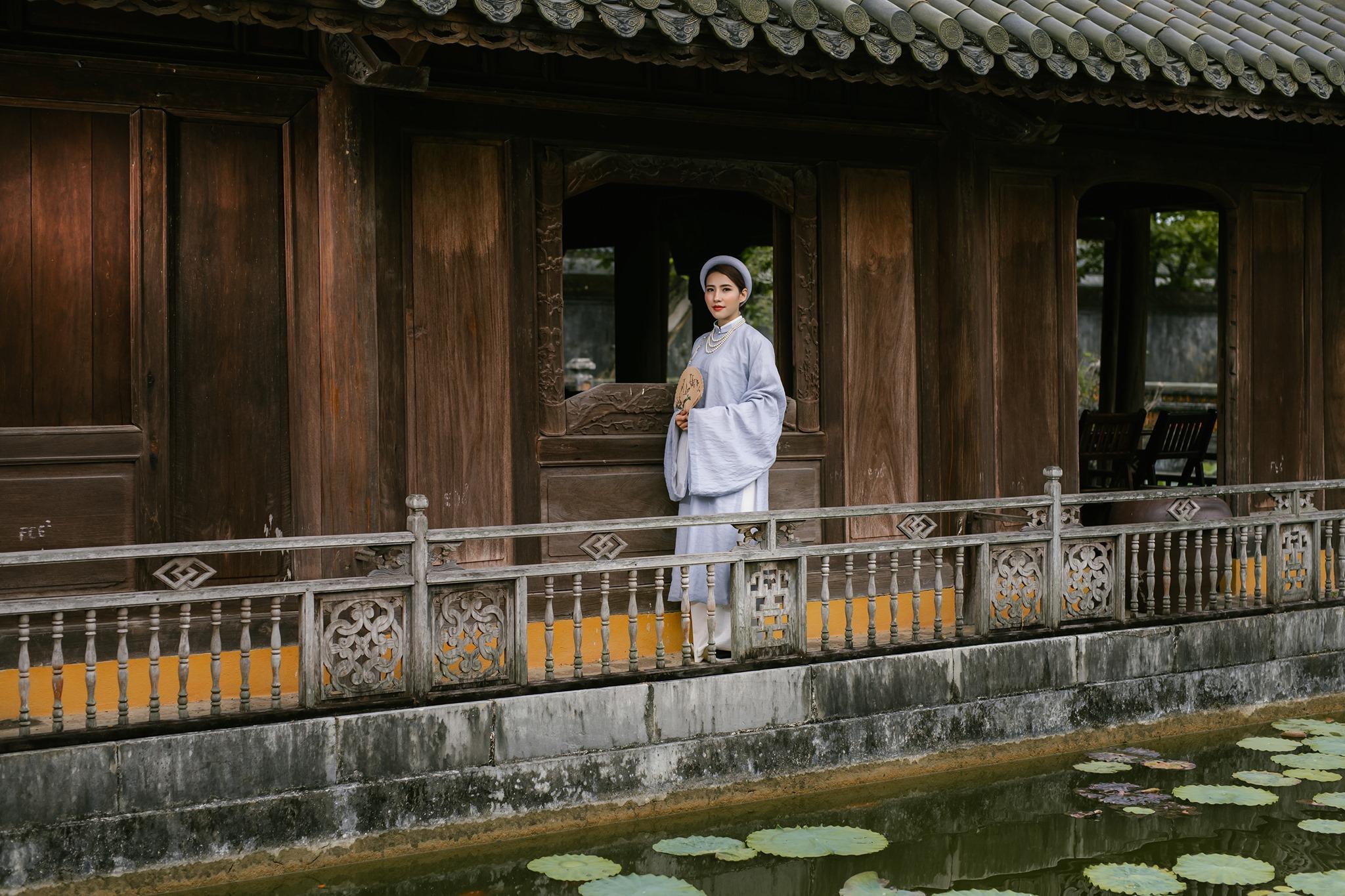 Nét đẹp cổ kính của Huế. Hình: Xuân Quang