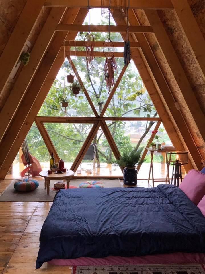 Phòng nghỉ tại Nâu Nâu Garden. Hình: Sưu tầm
