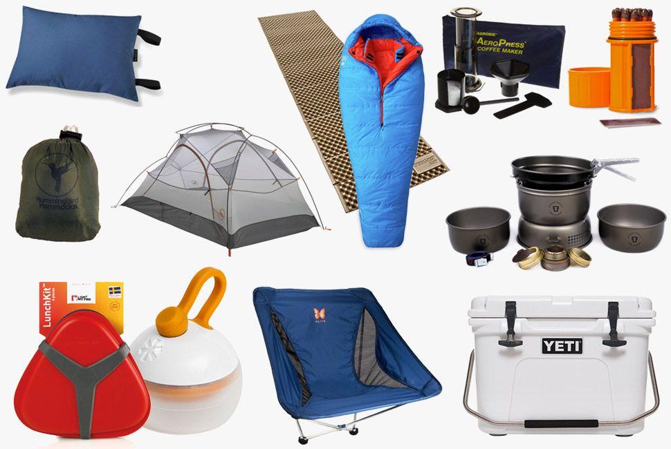 Một số vật dụng cần thiết khi đi cắm trại gia đình