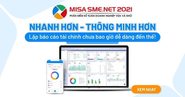 Phần mềm Misa cung cấp mọi góc nhìn tài chính cho doanh nghiệp