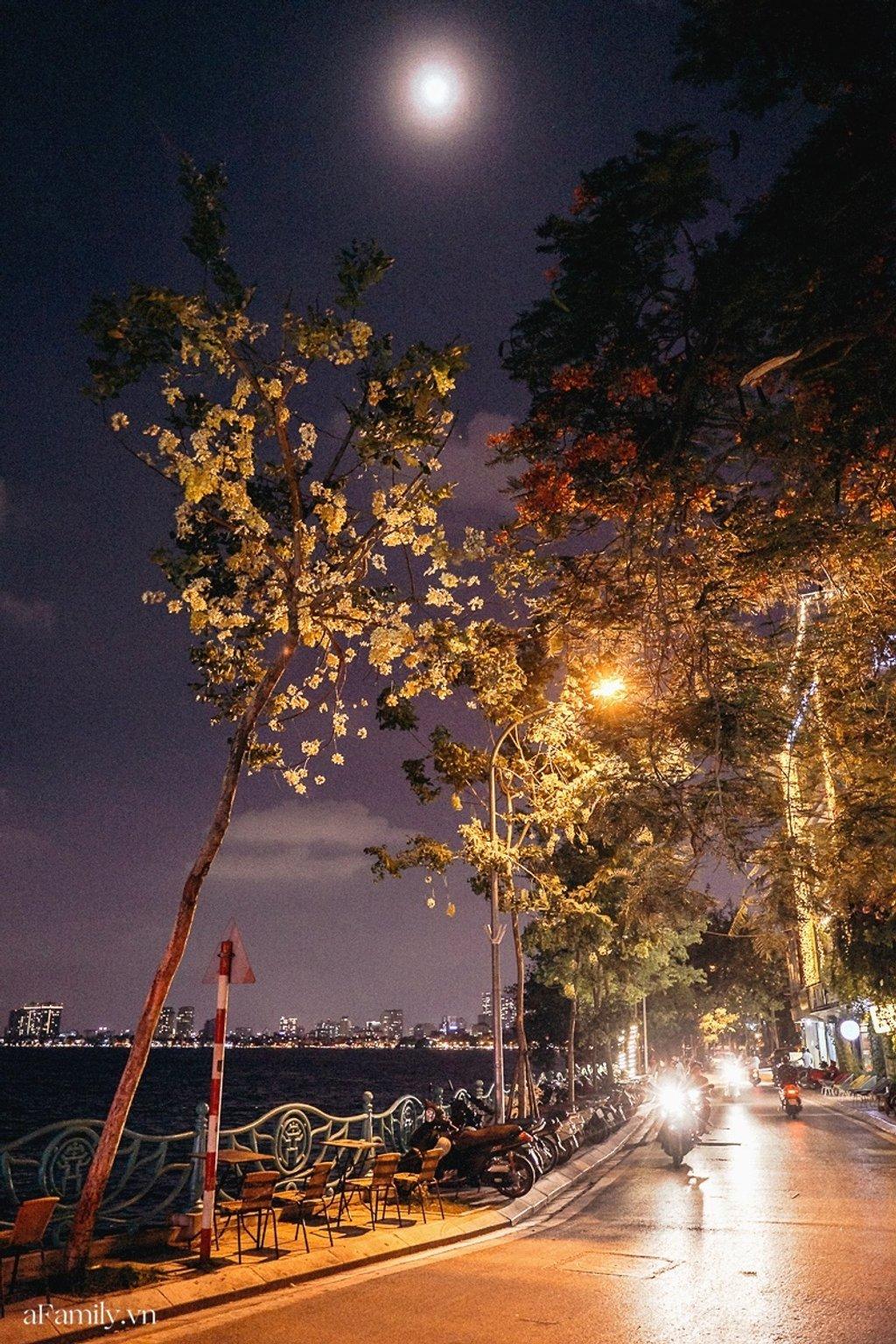 Hà Nội về đêm. Hình: Sưu tầm