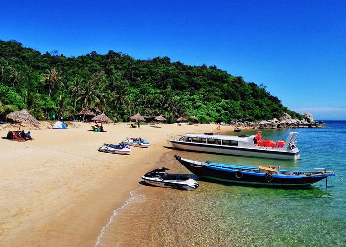 Cù Lao Chàm là một khu du lịch sinh thái thuộc tỉnh Quảng Nam. Ảnh: zingnews